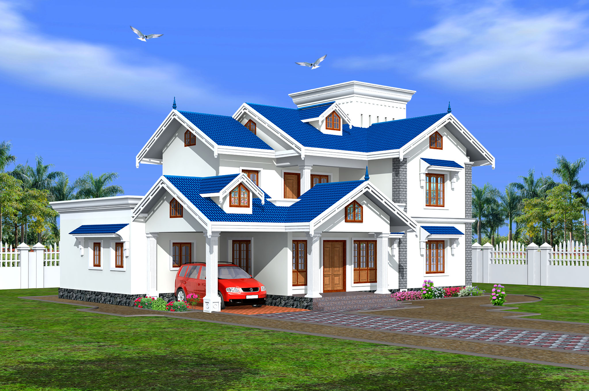 Green homes thiruvalla for Green home builders